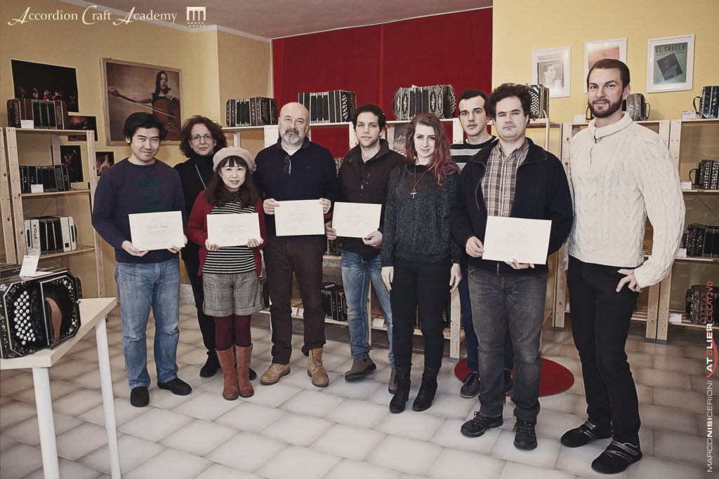 Course for Accordion Repariers, Tier1, January 2017